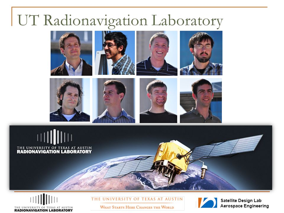 Satellite Design Lab Aerospace Engineering UT Radionavigation Laboratory