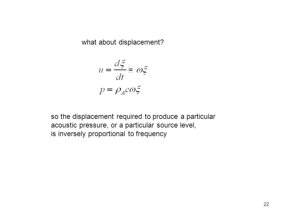 22 what about displacement.