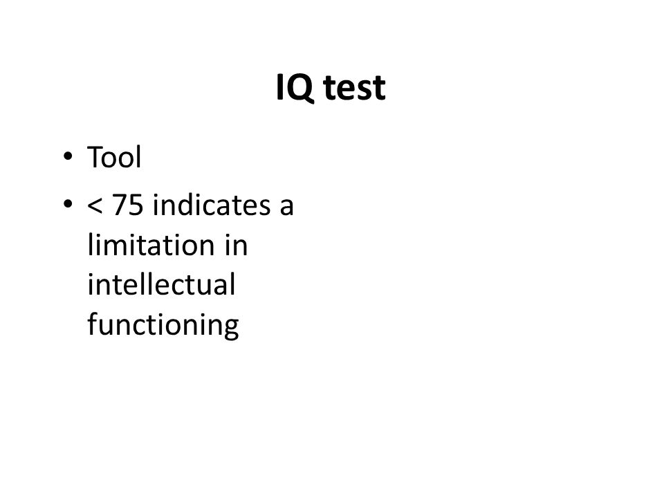 Small Group Questions What does IQ stand for.What is the formula for IQ.