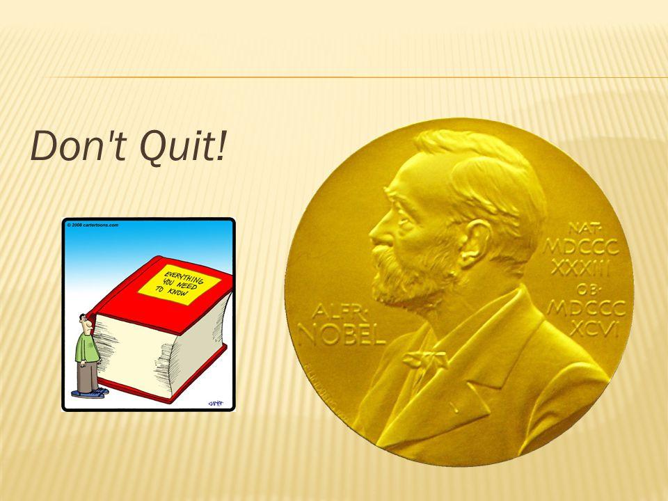 Don t Quit!