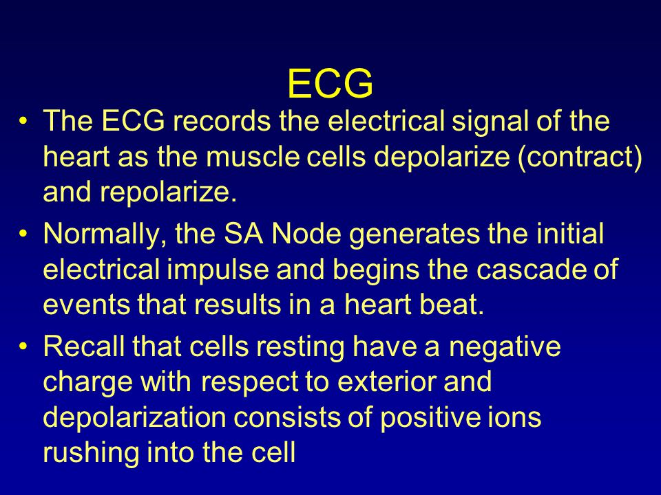 ECG- Heart rate ECG paper moves at a standardized 25mm/sec Each large square is 5 mm Each large square is 0.2 sec 300 large squares per minute / 1500 small squares per minute 300 divided by number of large squares between R-R 1500 divided by number of small squares between R-R