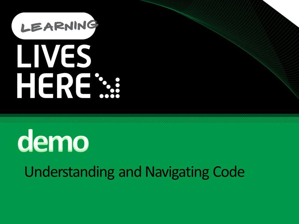 Understanding and Navigating Code