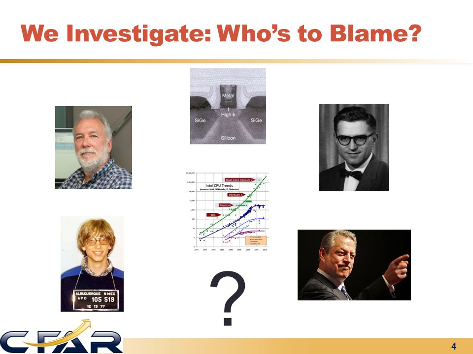 We Investigate: Who's to Blame? 4 ?