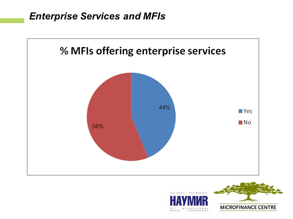 Enterprise Services and MFIs