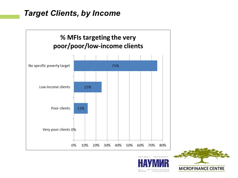 Target Clients, by Income