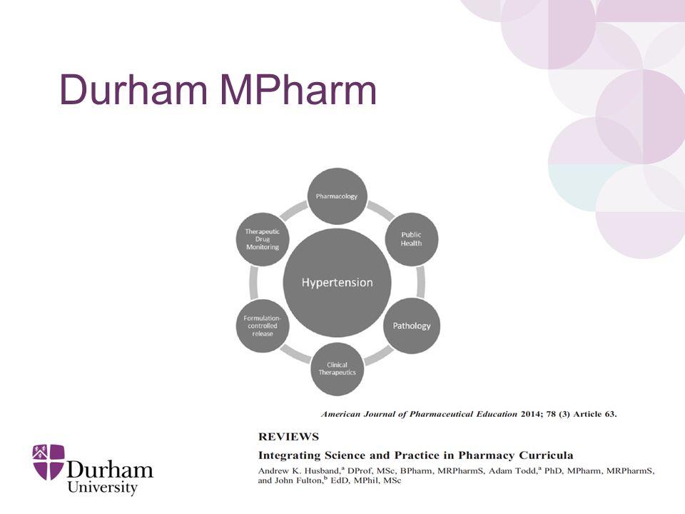 Durham MPharm