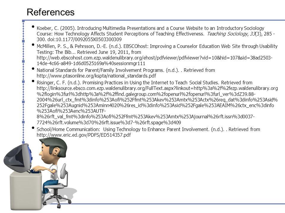 References Koeber, C. (2005).