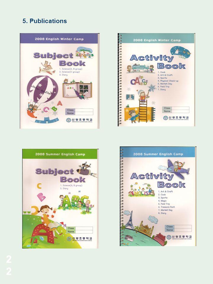 5. Publications 22