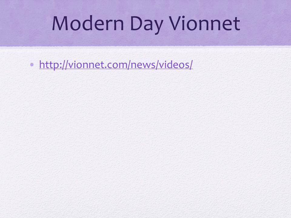 Modern Day Vionnet http://vionnet.com/news/videos/