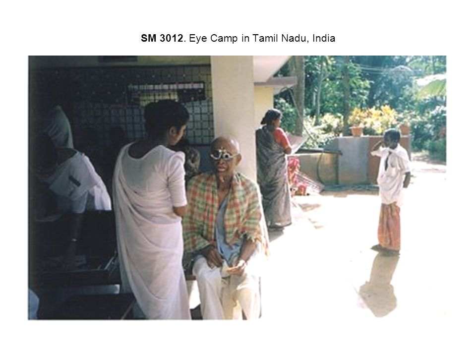 SM 3012. Eye Camp in Tamil Nadu, India