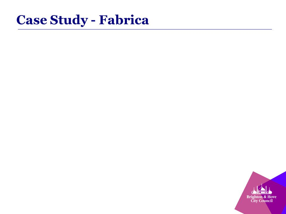 Case Study - Fabrica