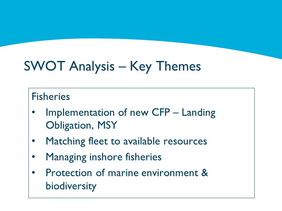 Fisheries – Fisheries Development Measure Sustainable Development of Fisheries Scheme Innovation (28) Advisory Services (29) Partnerships between scientists and fishermen (30) Mutual funds for adverse climatic events and environmental incidents (33c) Support to systems of allocation of fishing opportunities (34) Support for the design & implementation of conservation measures (35) Reduce impact on marine environment (36) Innovation linked to the conservation of marine biological resources (37) Protection and restoration of marine biodiversity & ecosystems (38) Added value, product quality and use of unwanted catches (40)