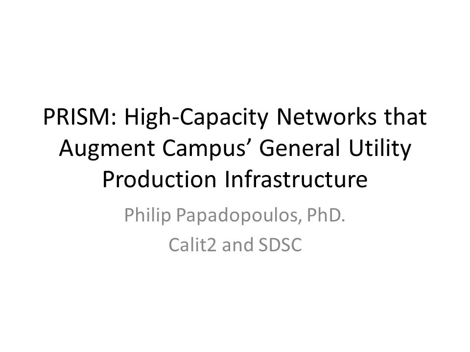 Prism Core Optiputer/Quartzite Enabled SDSC to Build Low-Cost High-Performance Storage 120Gbps