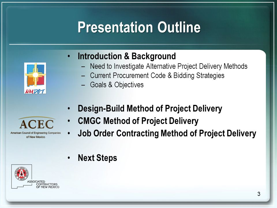 Procurement Process Job Order Contracting Need Identified Scope, Location, Quality & Design Criteria Need Identified Scope, Location, Quality & Design Criteria Selection Committee Define Selection Criteria Selection Committee Define Selection Criteria Job Orders Issued On-Call, As-Needed Basis Job Orders Issued On-Call, As-Needed Basis RFQ Quality Based RFQ Quality Based RFQ Evaluation & Short List RFP Best Value Selection Quality and Cost RFP Best Value Selection Quality and Cost Interview and Rank Selection and Award Single or Multiple Selection and Award Single or Multiple 34