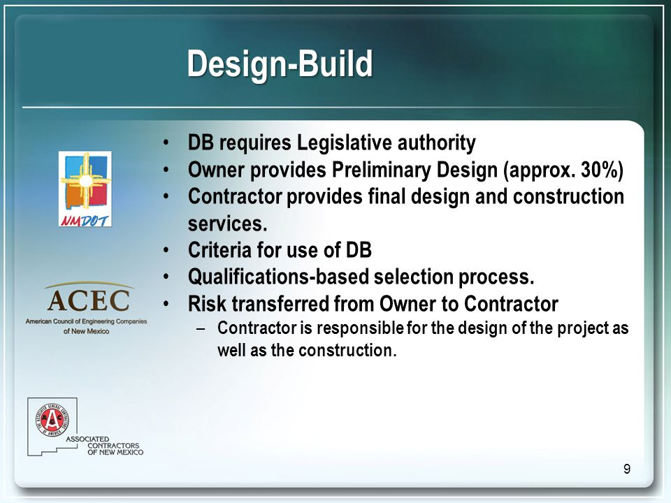 Why Use Job Order Contracting.