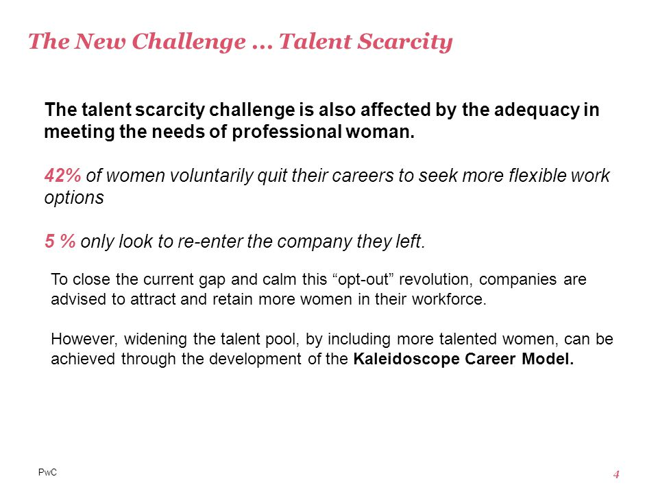 PwC 15 PwC in the News Initiatives  New board level mentoring programme for 28 high potential female partners  Comply or Explain policy regarding the ratio of women being promoted to senior ranks.