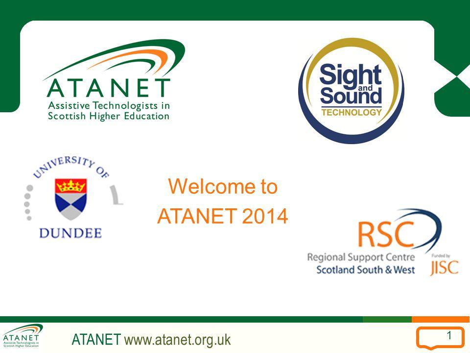 ATANET www.atanet.org.uk 1 Welcome to ATANET 2014