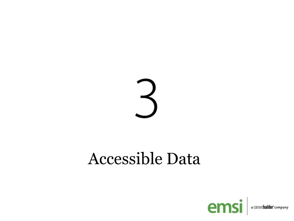 Accessible Data