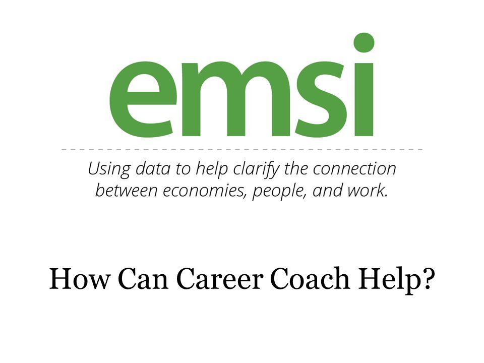 How Can Career Coach Help?