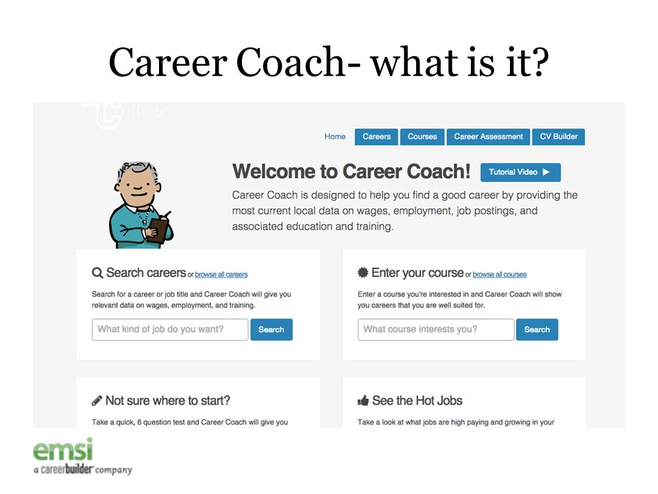 Career Coach- what is it?
