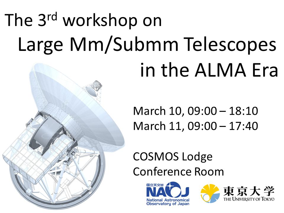 Background of the workshop ALMA, the most powerful mm/submm facility with high angular resolution imaging capability coupled with unprecedentedly high sensitivity, has been producing a growing number of impressive and compelling results.