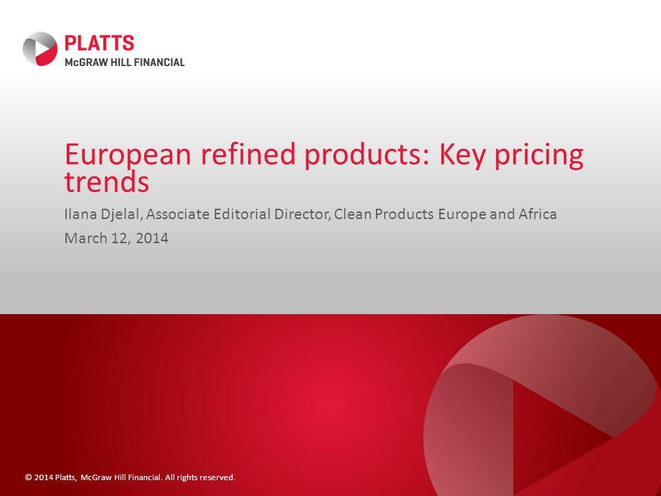 CIF NWE jet, ULSD cargo premiums face pressure 12 $/mt Source: Platts