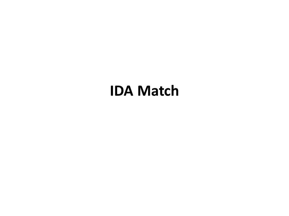 IDA Match