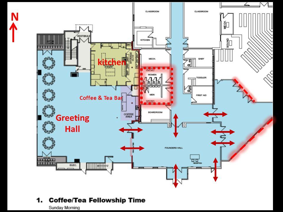 N kitchen Greeting Hall Coffee & Tea Bar
