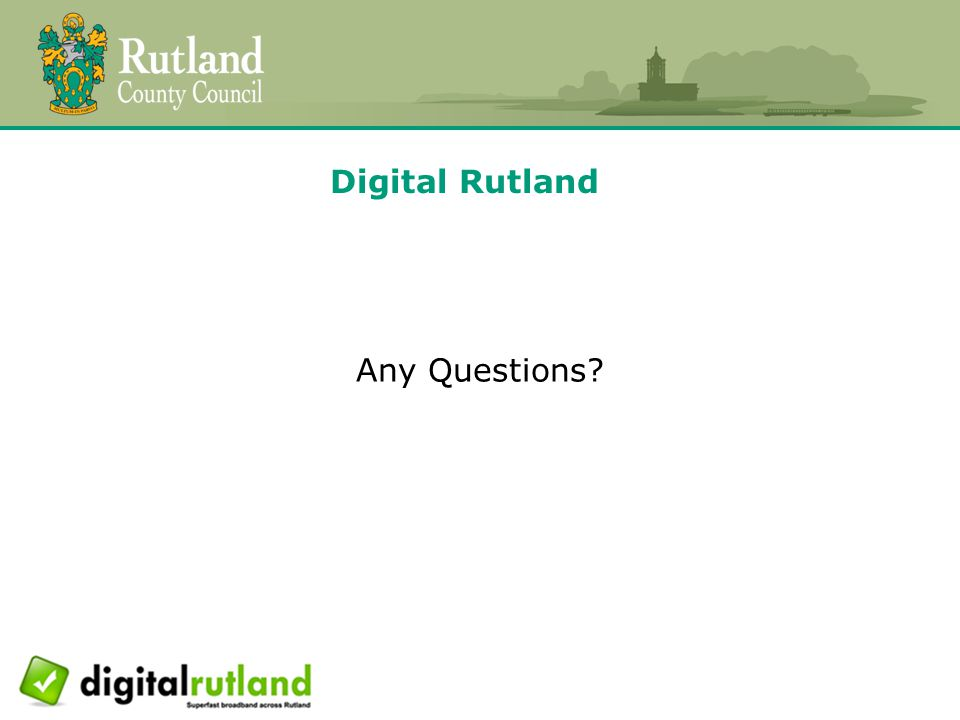 Digital Rutland Any Questions