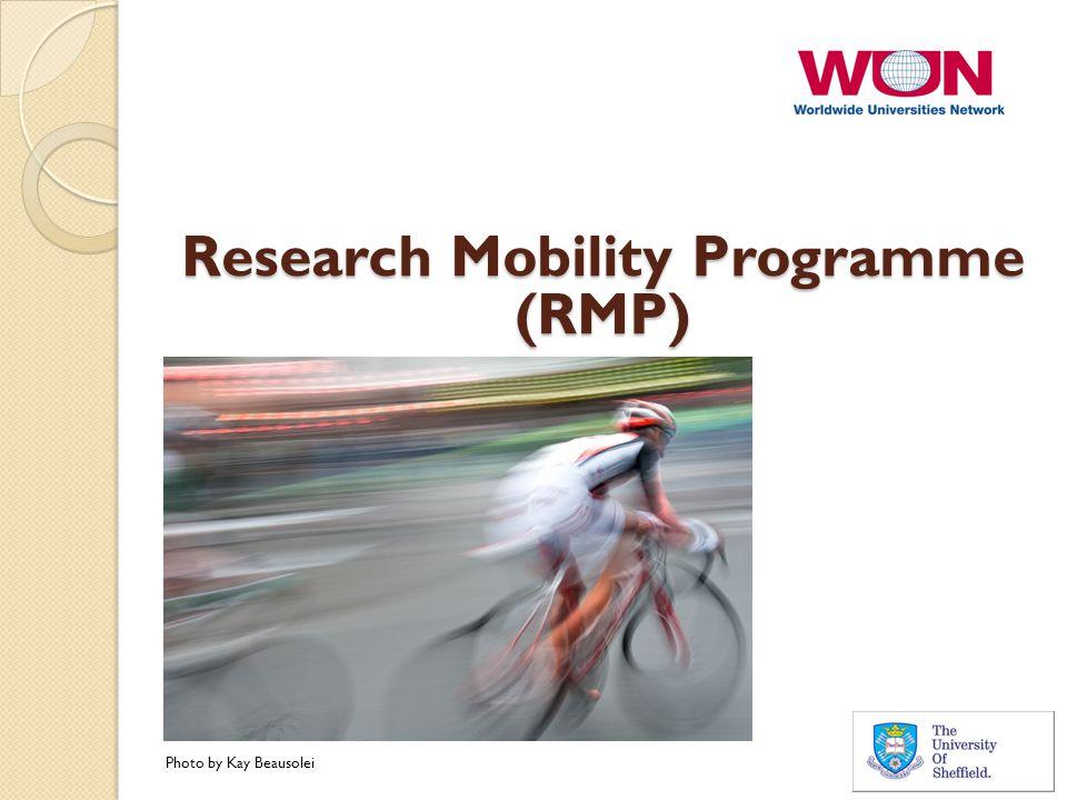 Research Mobility Programme (RMP) Photo by Kay Beausolei