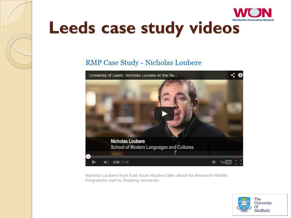 Leeds case study videos