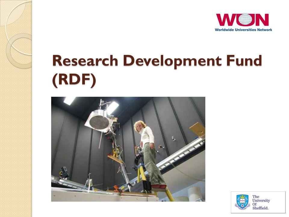 Research Development Fund (RDF)