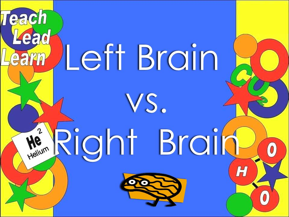 Left BrainLeft Brainvs. Right BrainRight Brain