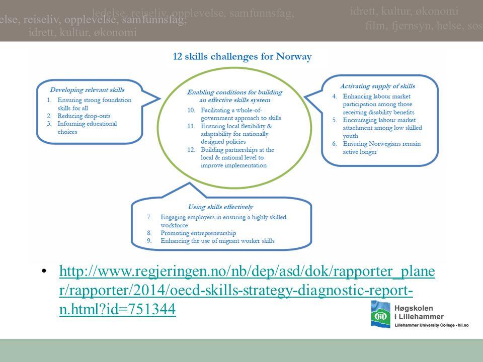 http://www.regjeringen.no/nb/dep/asd/dok/rapporter_plane r/rapporter/2014/oecd-skills-strategy-diagnostic-report- n.html id=751344http://www.regjeringen.no/nb/dep/asd/dok/rapporter_plane r/rapporter/2014/oecd-skills-strategy-diagnostic-report- n.html id=751344