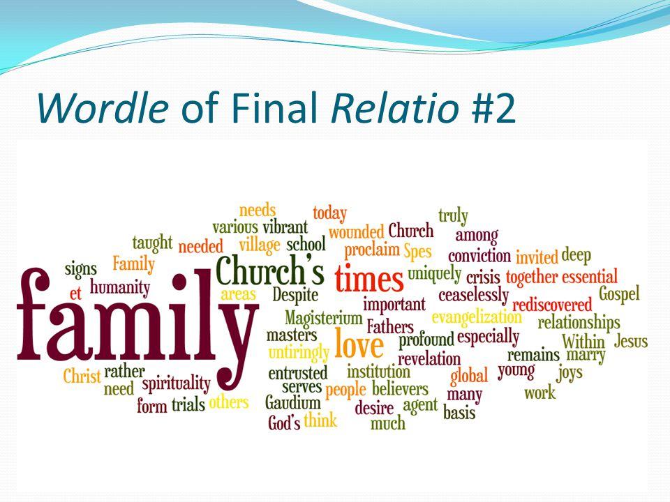 Wordle of Final Relatio #2
