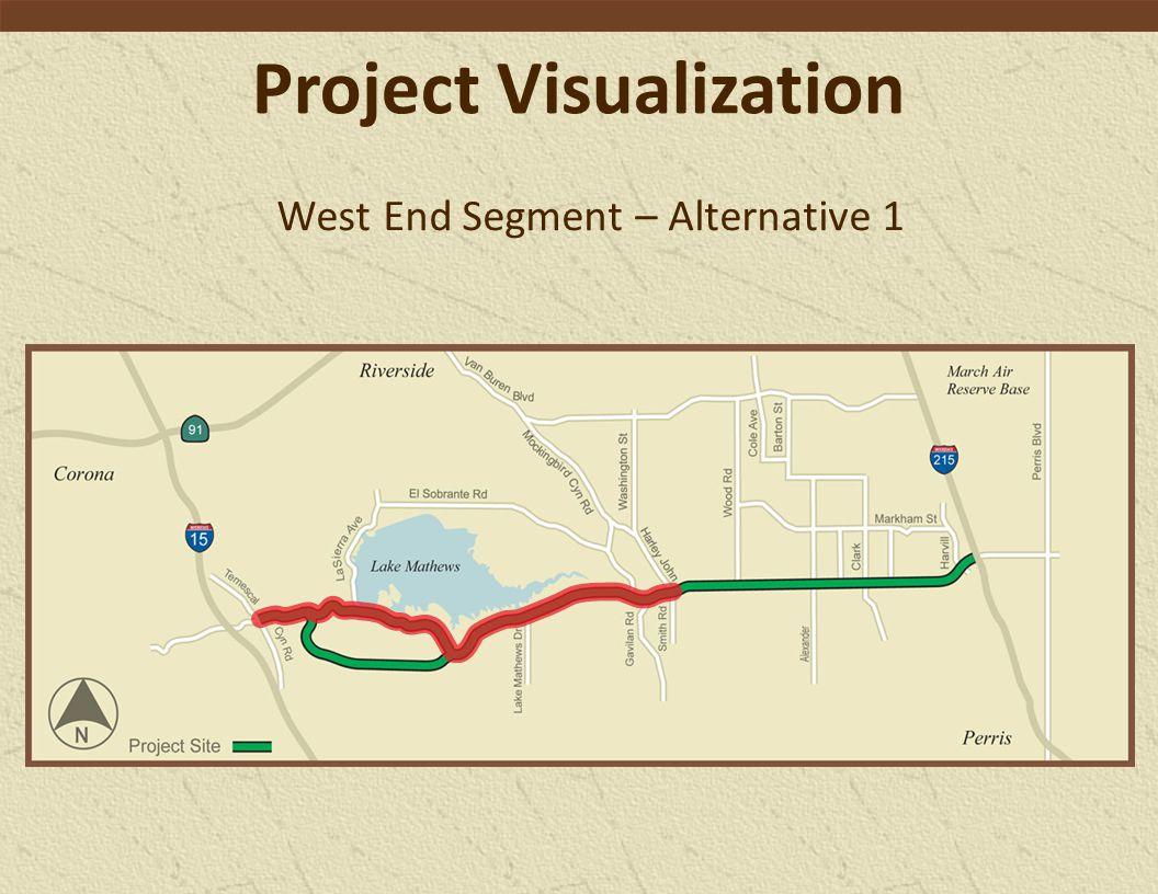 West End Segment – Alternative 1