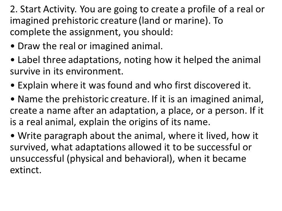 2. Start Activity.