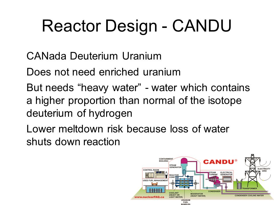 February 13, 2013 sustainable energy policy40 Bruce Power Proposal http://www.brucepower.com/pagecontentAB.aspx?navuid=9090 2-4 reactors for 4000 MW –Not directly tied to oil sands $10 billion Neutral on reactor choice at present Current site located 30 Km north of Peace River