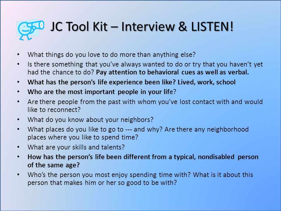 JC Tool Kit – Interview & LISTEN. JC Tool Kit – Interview & LISTEN.