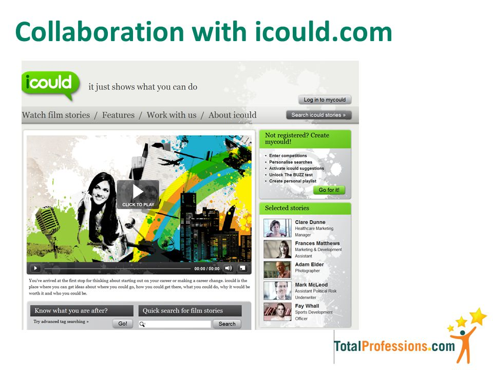 Collaboration with icould.com