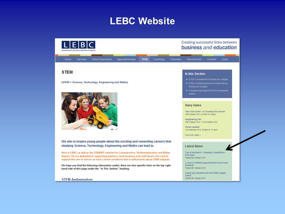 LEBC Website