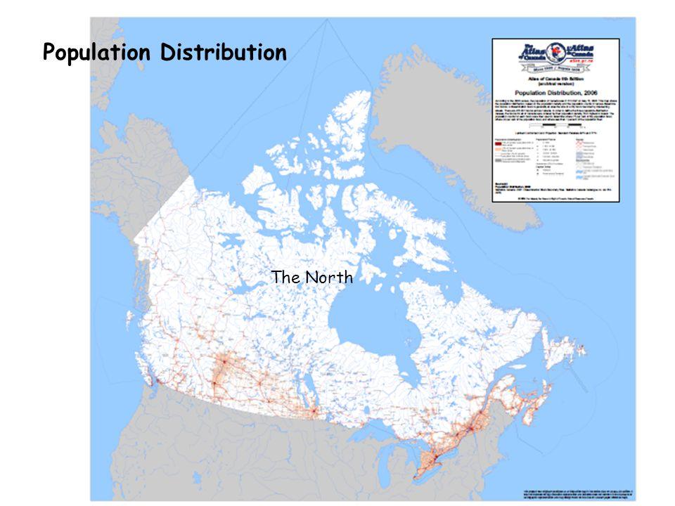 Population Distribution The North