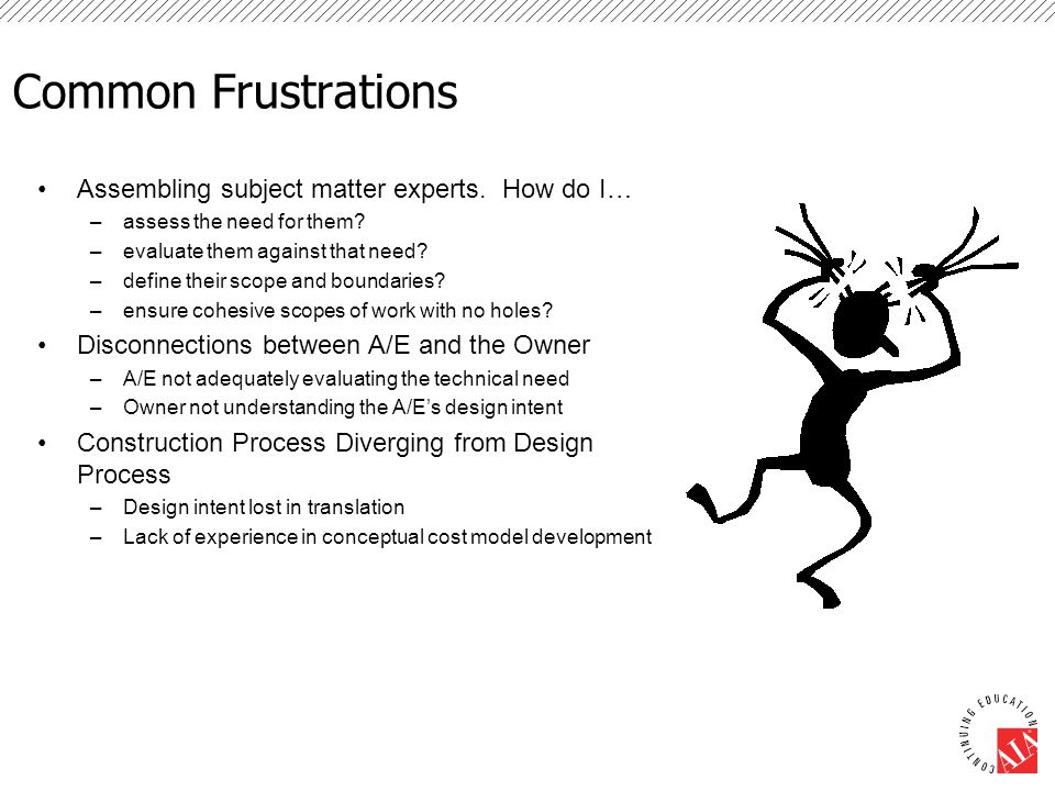 Frustration Dictates The Way Forward Least Resistance