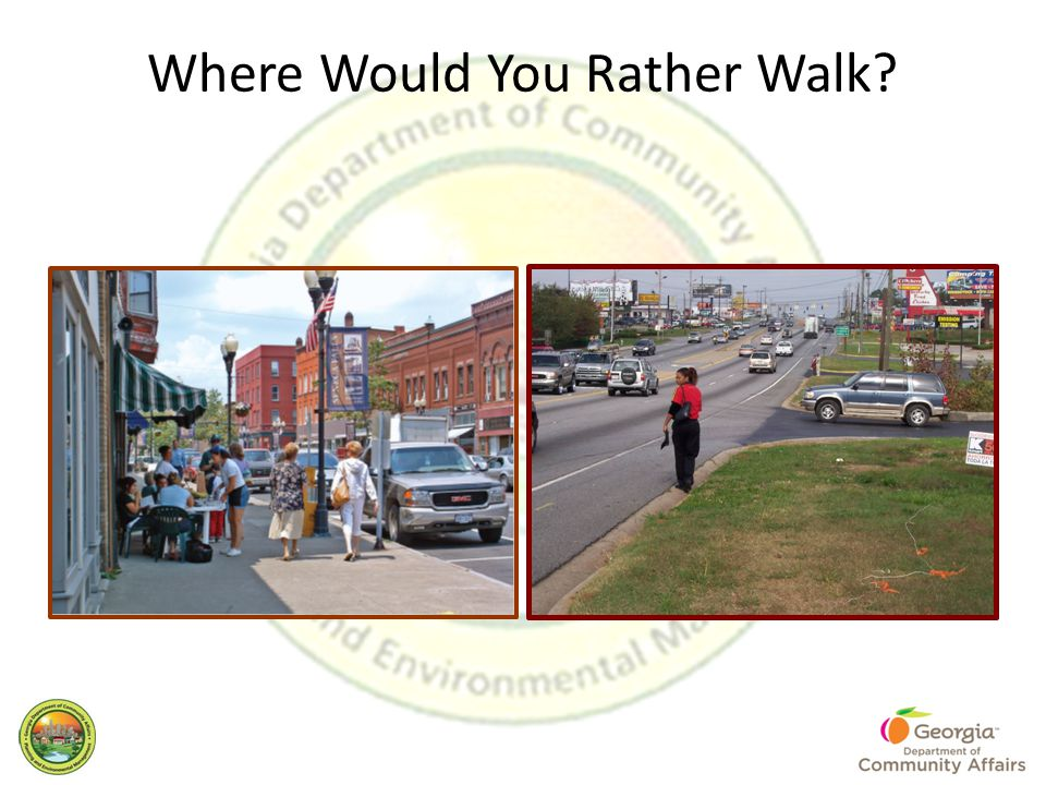 Where Would You Rather Walk?