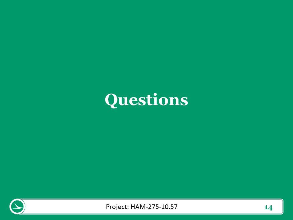 14 Questions Project: HAM-275-10.57