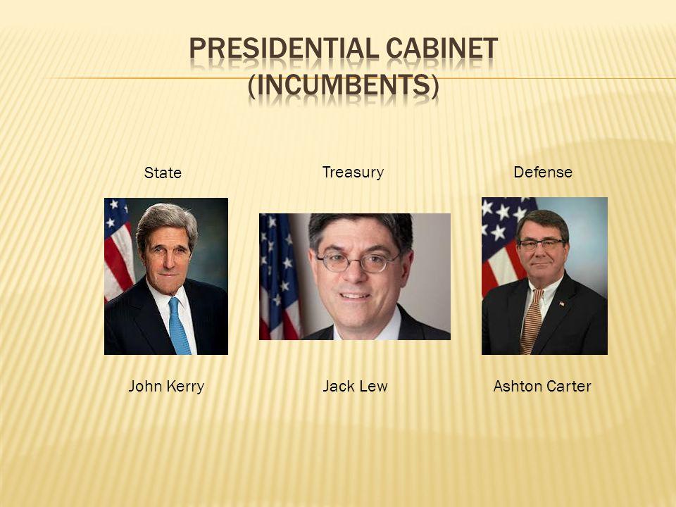 State TreasuryDefense John KerryJack LewAshton Carter