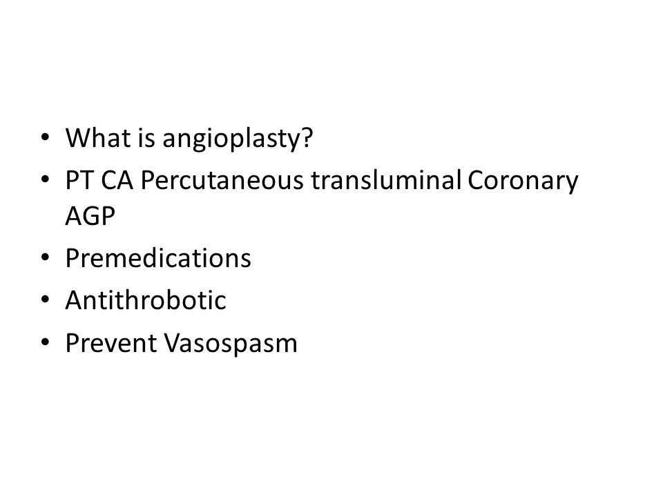 What is angioplasty.