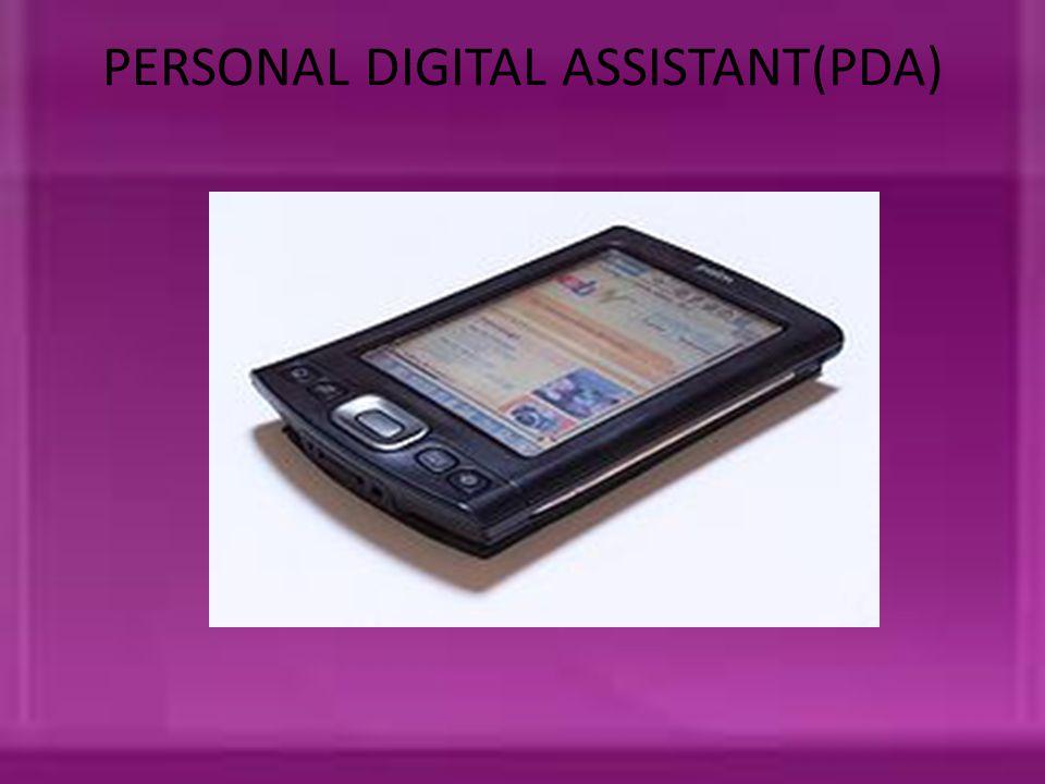 PERSONAL DIGITAL ASSISTANT(PDA)