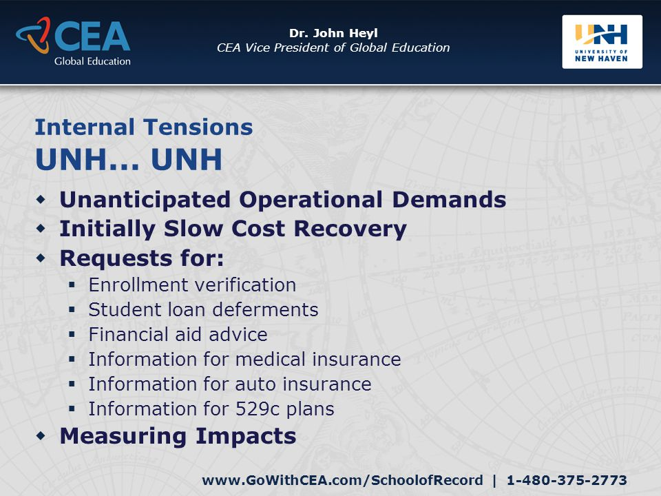 www.GoWithCEA.com/SchoolofRecord | 1-480-375-2773 Dr.