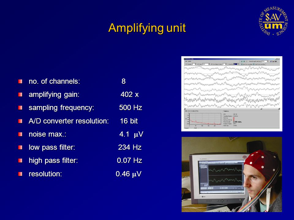 Amplifying unit no.